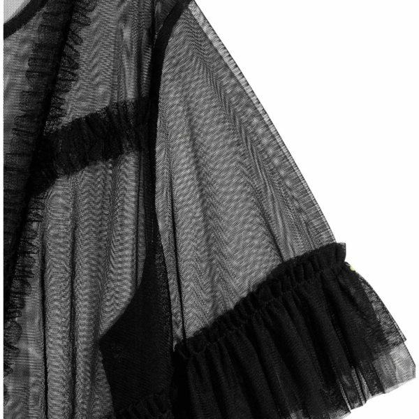 c04de156a9 Fodros szegélyű necc felső, fekete, XL - Chicks Paradise