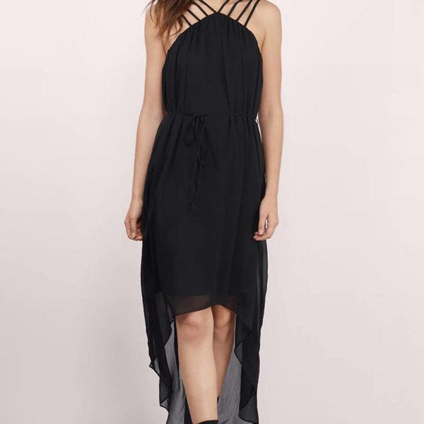 Miriam fekete maxi ruha