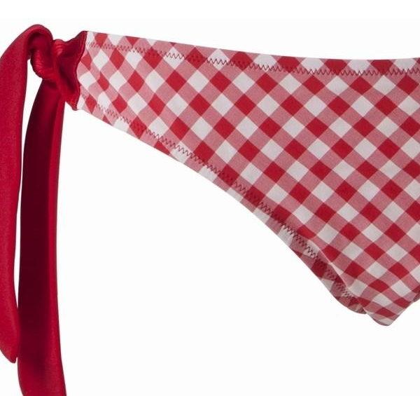Betsy oldalt megköthető piros bikini alsó