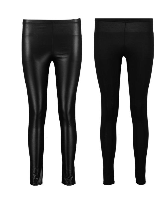 fekete leggings szett